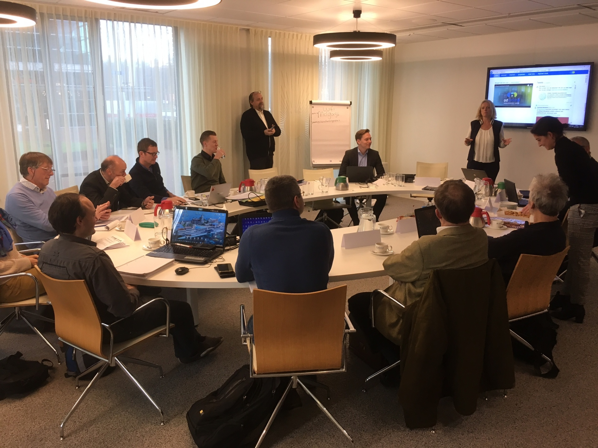 Second project meeting took place in IJmond (NL)
