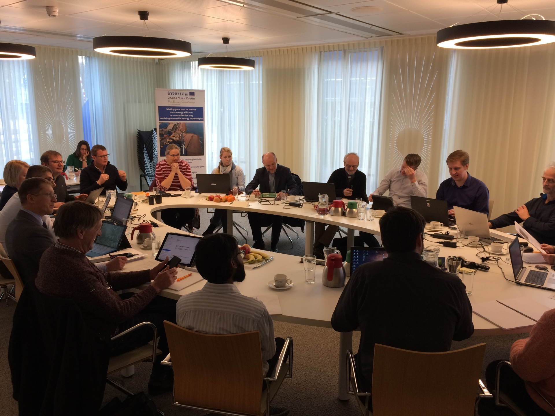 PECS partners discuss outputs in workshop and hold 5th partnermeeting in Velsen (NL)