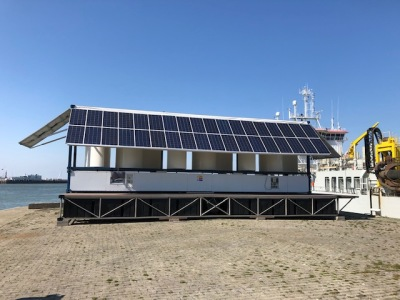 PRESS RELEASE | Energy pontoon is tested in Port of Oostende