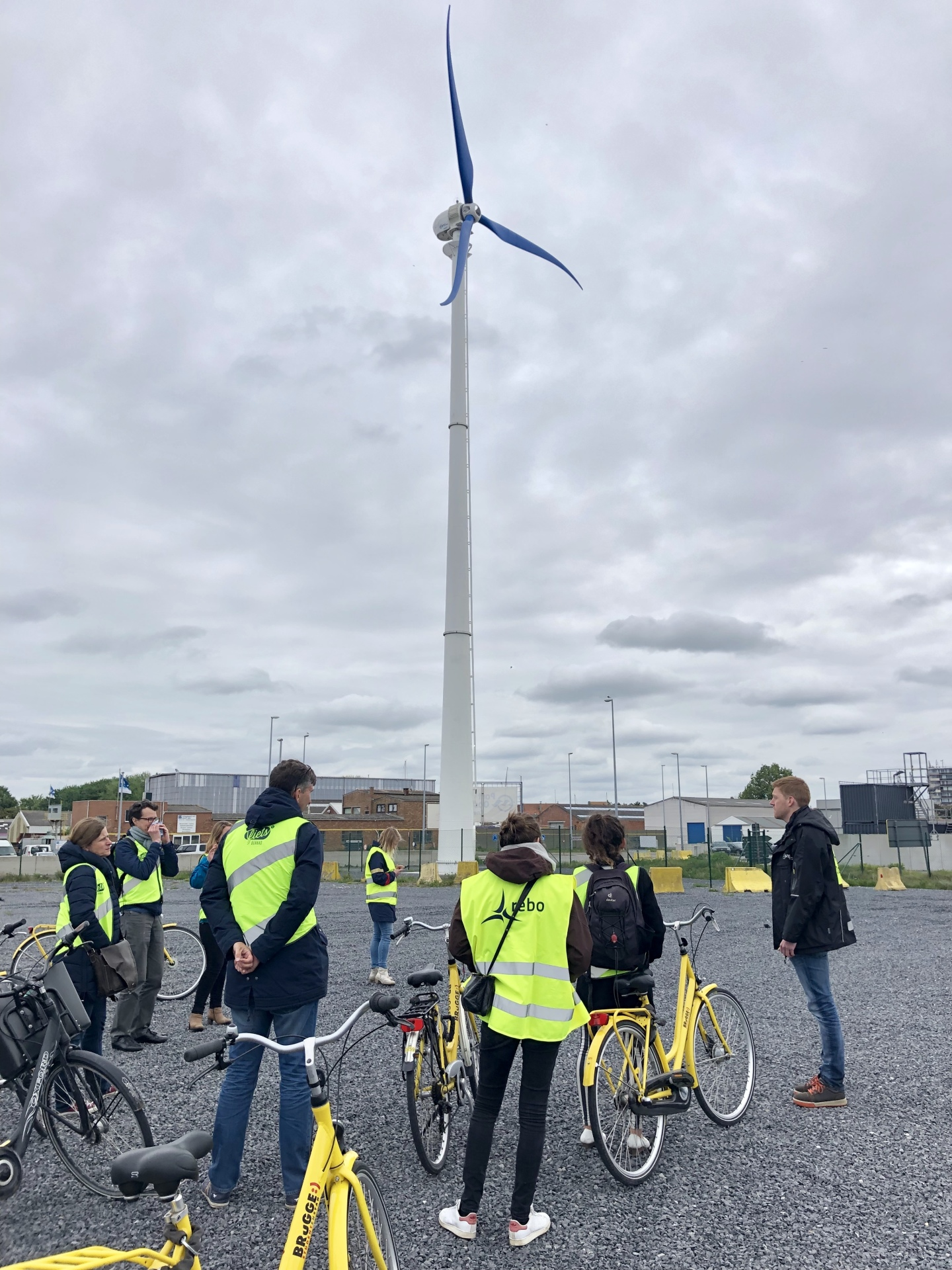 VVSG Climate Day: exploring the Ostend PECS-pilots by bike