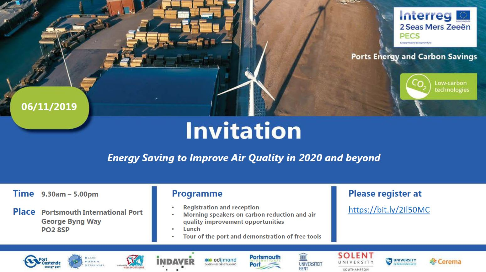 Invitation: Energy Saving to Improve Air Quality in 2020 and beyond (UK JAP meeting & demonstration)