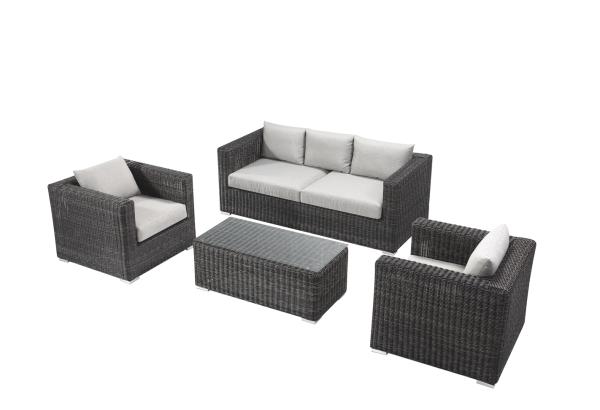 outdoor sofa, resin wicker