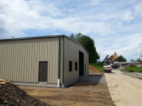 Ohio Steel Equipment Shop General Contractor, Metal Building Suppy, Metal Building Erector
