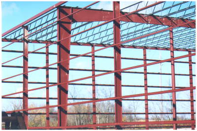 Ohio Steel Columns, Ohio Steel Construction Beams, Eave Strut, Steel Building Purlins.