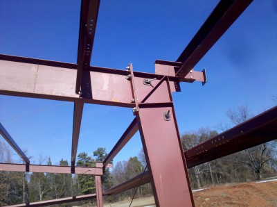 Ohio Steel Building Frames,Red Iron, Steel Building fastners, Steel Building Girts, Steel Building Purlins.