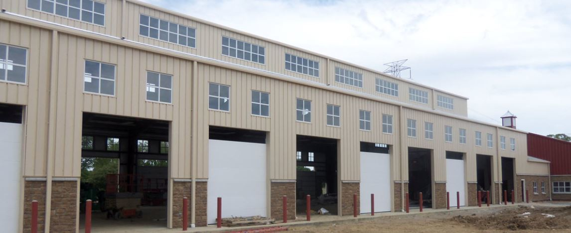 Ohio Steel Construction, Metal Building Supply, Commercial Steel Building, Maintenance Building General Contractor