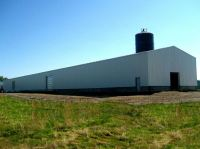 Ohio Steel, Ohio Steel Construction, Agricultural Metal Building, Pre-engineered Steel Building, Ridge Cap