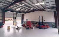 Steel Building Auto Repair Shop, Ohio Steel, Design Build Contactor, Steel Building Erector, General Contractor