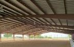 Equestrian Metal Building, Ohio Steel, Indoor Riding Arena, General Contractor, Metal Building Erector