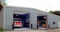 Ohio Steel, Ohio Metal Buildings, Pre-engineered Steel Firehouse, Steel Building Contractor