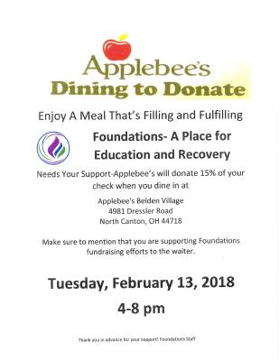 Applebee's Dining to Donate