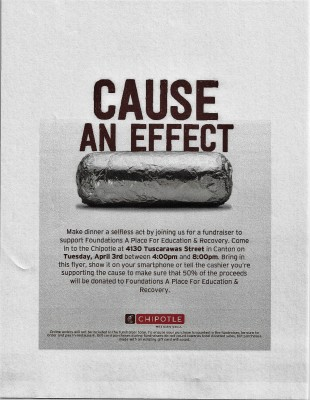 Chipotle  Dine and Donate Event
