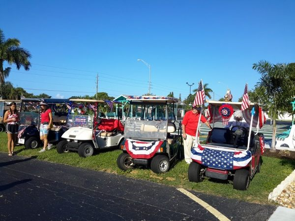 JULY 4TH GOLF CART PARADE
