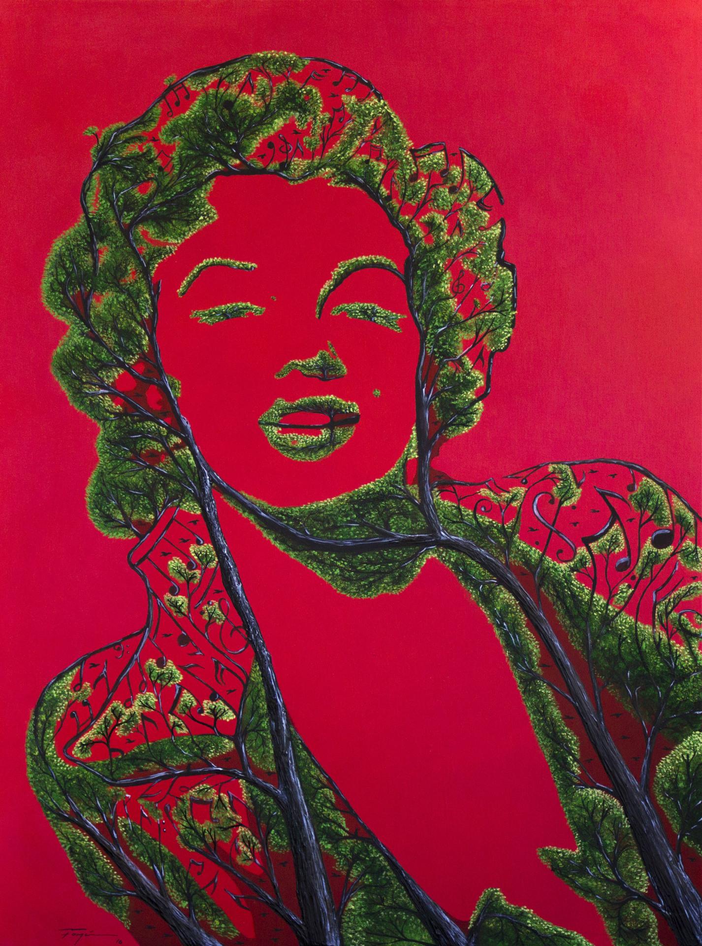 """Belleza de Mujer""  2016    30""x40"" Oleo on Canvas    Price: $ 12,000"