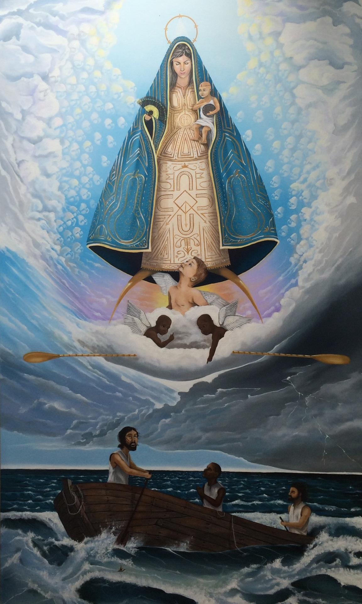 """""""Caridad del Cobre""""  2015   Oil on canvas     Private Collection"""