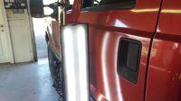 2016 F250 Driver Front Door Before After Dent Repair