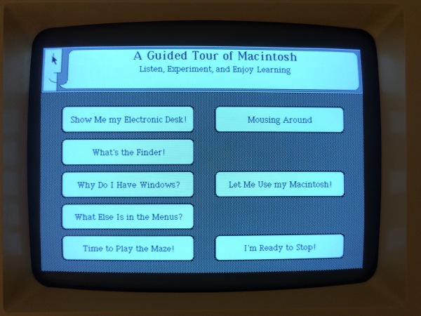 A Guided Tour of Macintosh