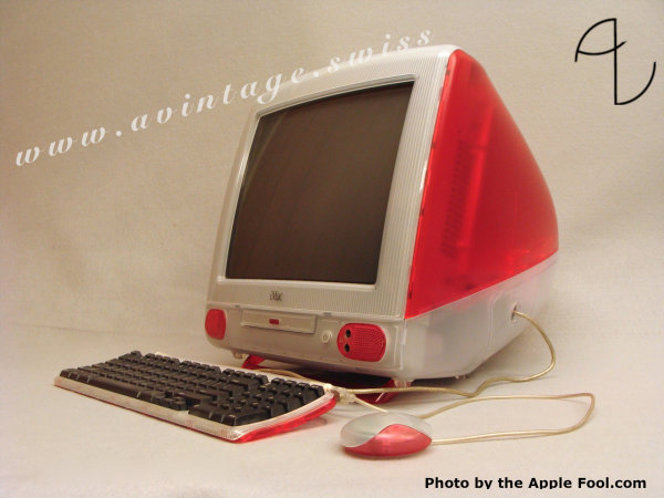 "iMac ""Fruit Colors"" (Strawberry)"