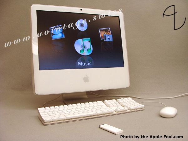 """iMac G5 20'' """"iSight"""""""