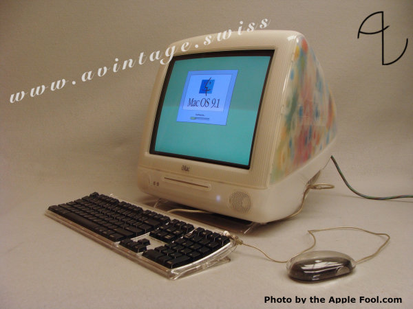 "iMac Special Edition ""Flower Power"""