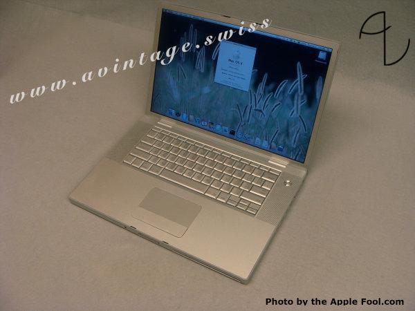 "MacBook Pro 15'' ""Early 2007"""
