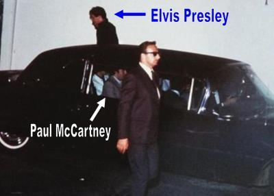 The Beatles talking about meeting Elvis Presley