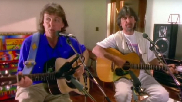 Paul McCartney | George Harrison | Ringo Starr 'Blue Moon Of Kentucky'