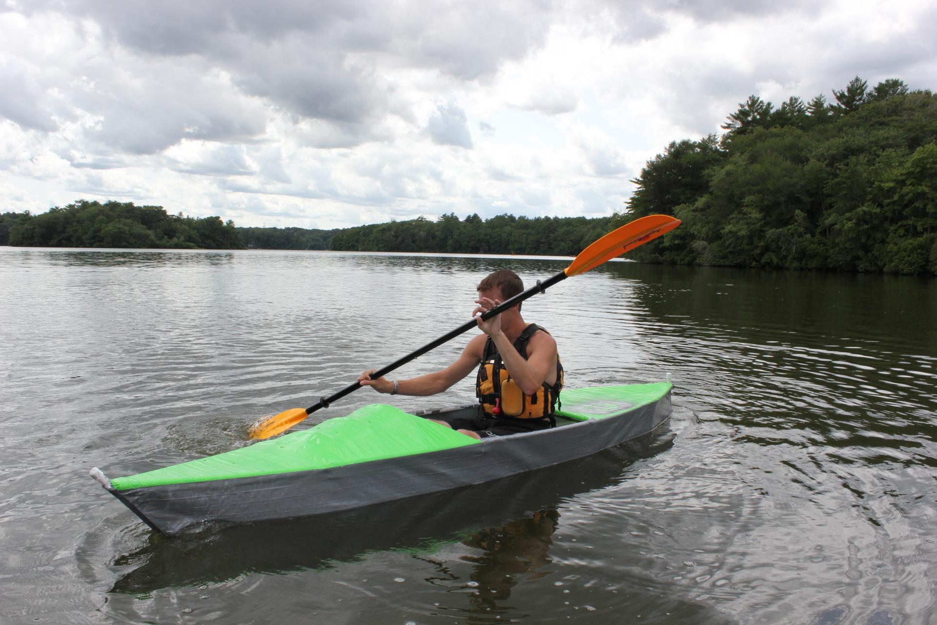 Duct Tape Kayak Camp