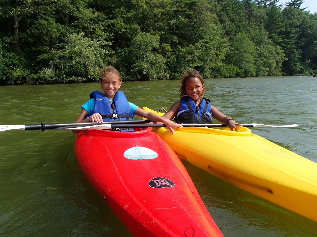 Kayak Adventure Camp