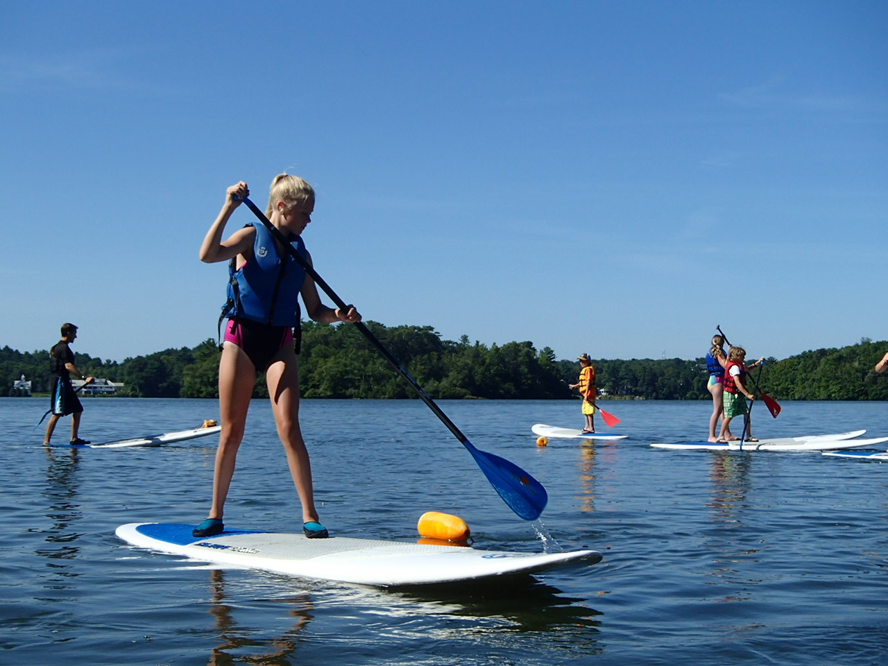 Youth SUP Camp