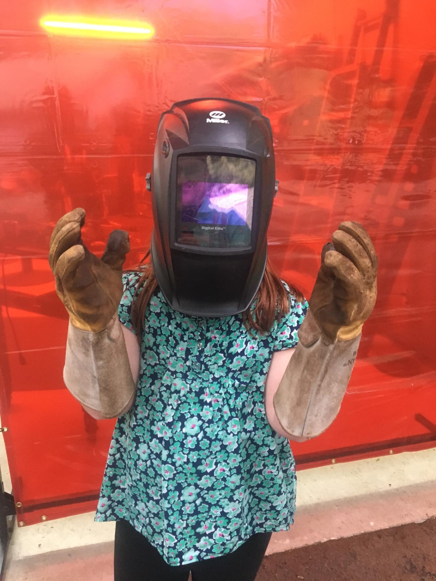 Shop helper, daddy's little girl, Rusty Croft