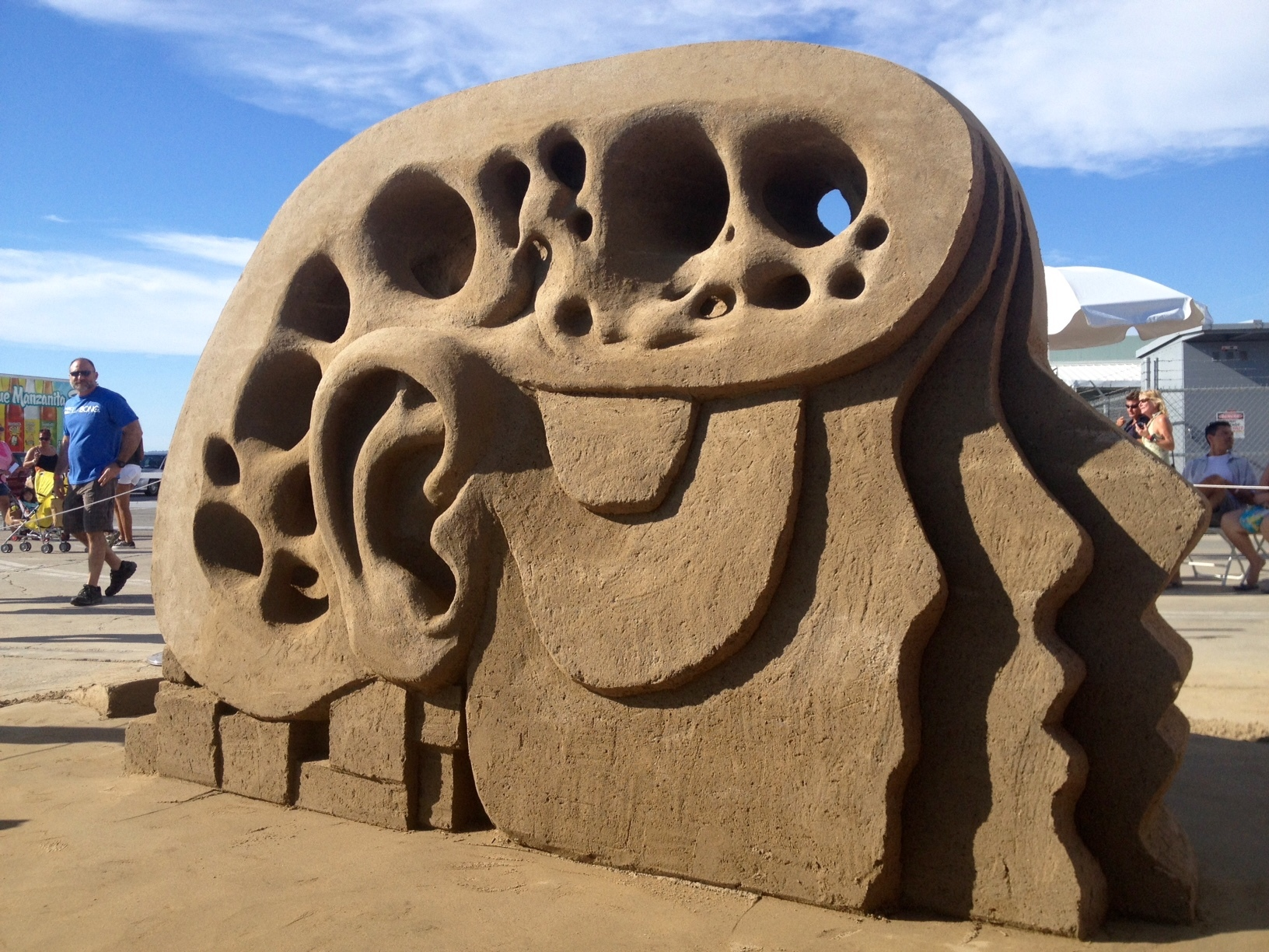 San Diego sand sculpture by Rusty Croft