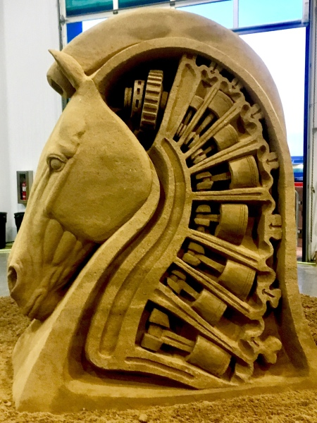 San Diego sand sculpture by Rusty Croft, 3rd place