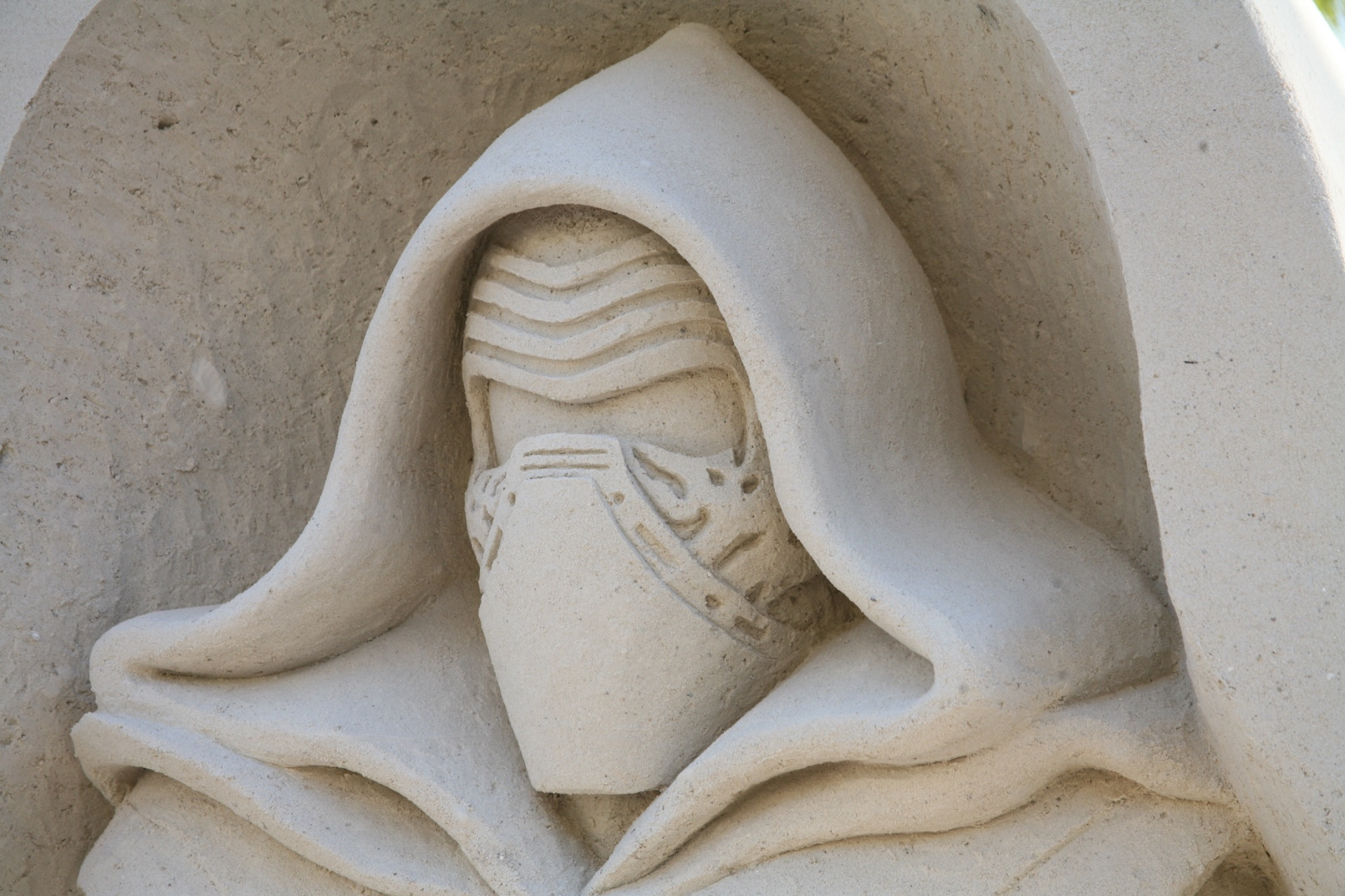 Key West sand sculpture by Rusty Croft