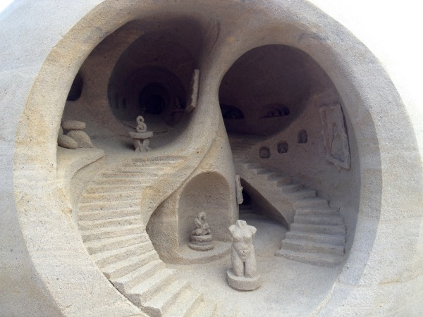 Atlantic City, NJ sand sculpture by Rusty Croft, 3rd place
