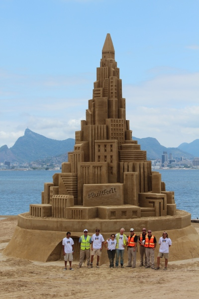 Rusty Croft, Guinness World Record, Rio Brazil, CAT built for it.