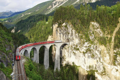 TRAVEL-Train Journeys of the World
