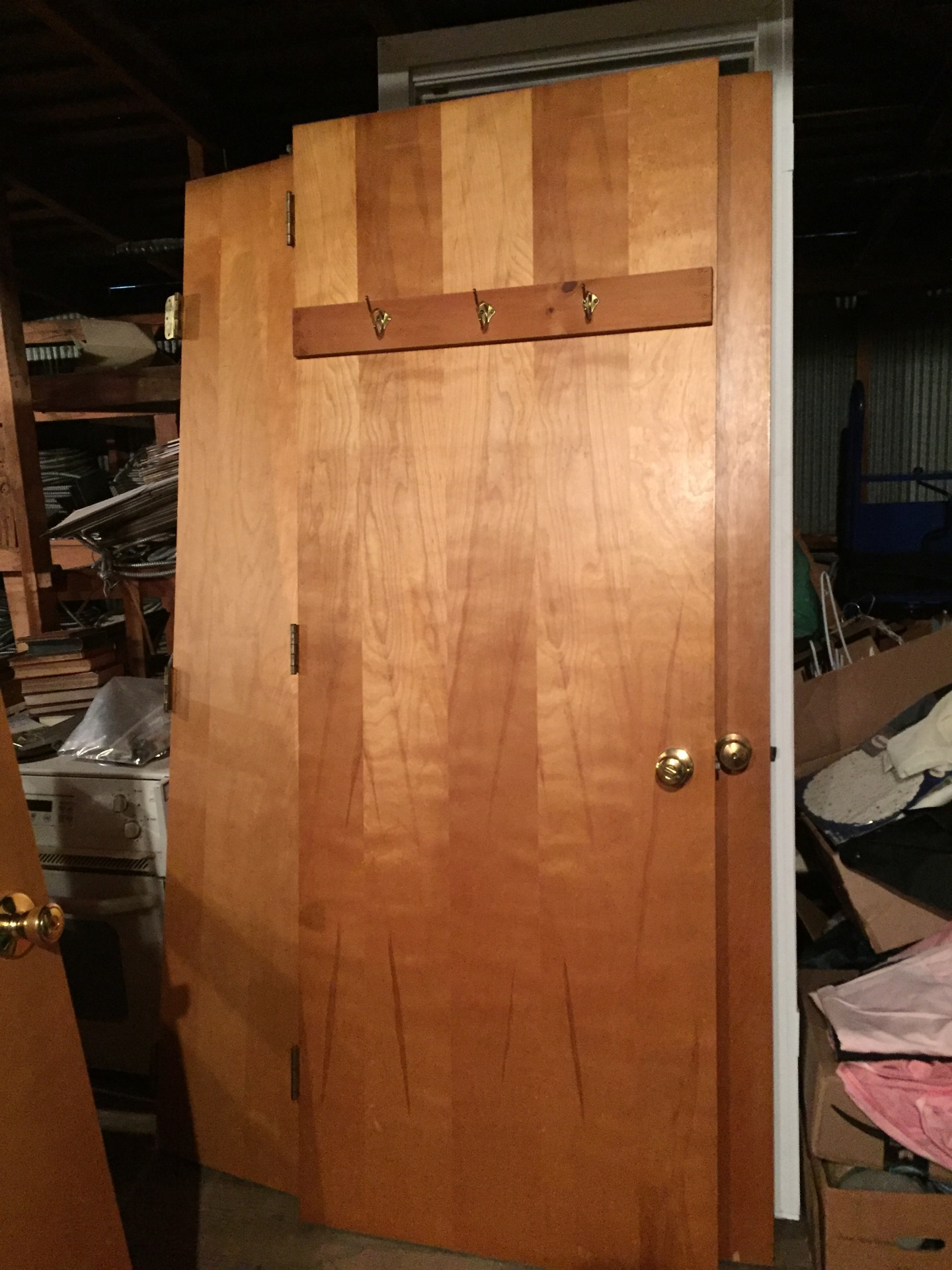 Various inside/ closet door and door frames