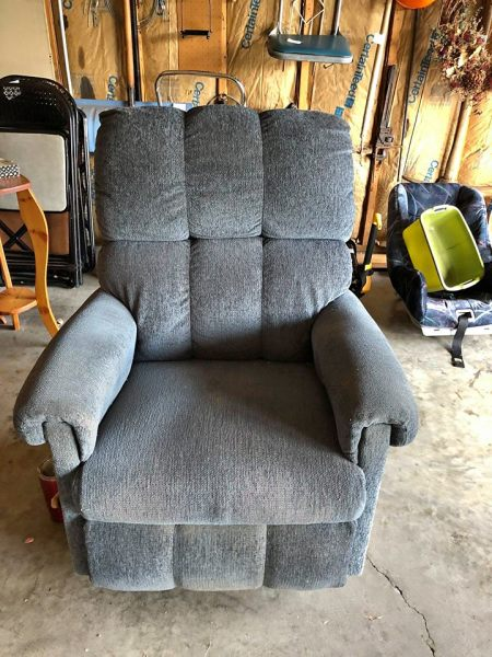 Reclining chairs $40.00
