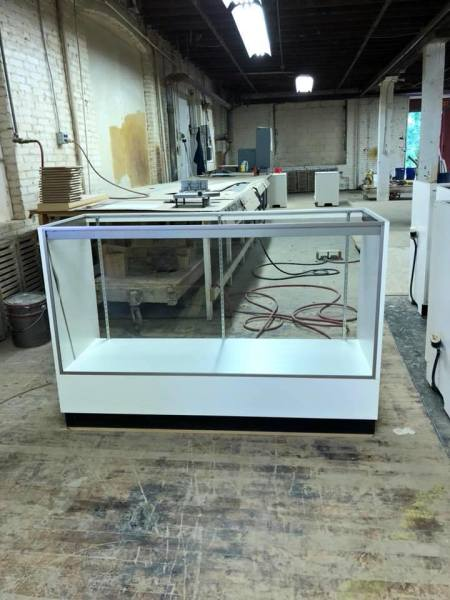 Glass front display cases $15.00