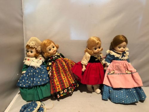Vintage Madame Alexander Doll Lot Germany Irish Gretel Betsy Ross$35.00