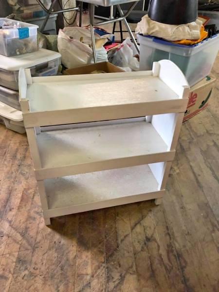 Wood shelf $25.00