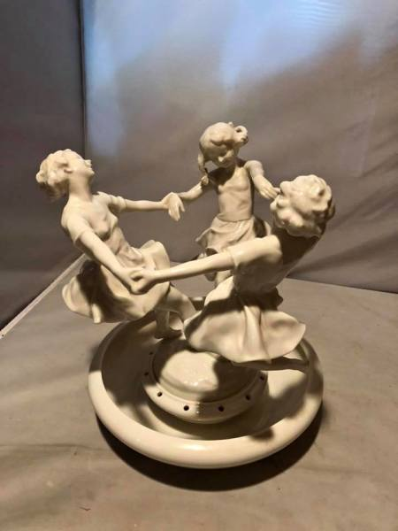 Vintage porcelain dancing girls $80.00