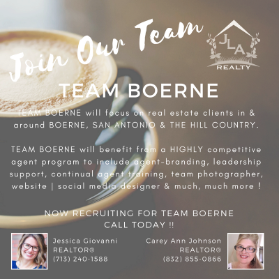 Join Our Brokerage - JLA Realty | Team Boerne