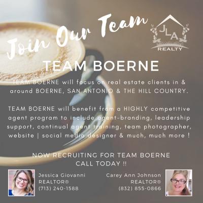 Join Our Brokerage - JLA Realty | Team Boerne