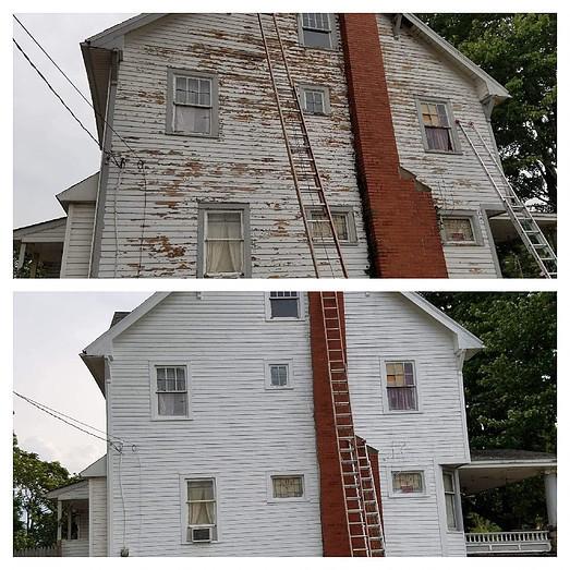 Paint Exterior Wood Siding