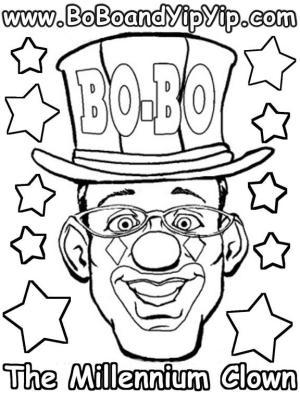 Bo-Bo Coloring Page 3