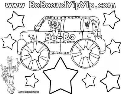 Bo-Bo Coloring Page 2