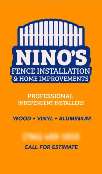 Nino's Fencing Installation