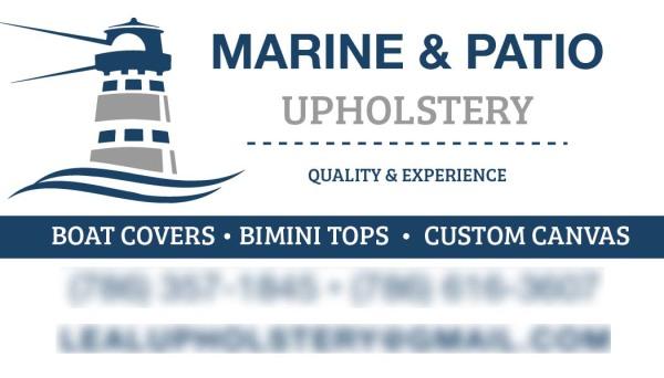 Marine & Patio Upholstery